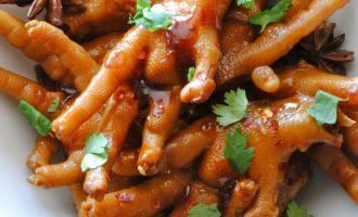 Вкуснейшие куриные лапки. Китайский деликатес.