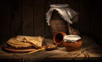 Старинный русский рецепт мороженного с блинчиками