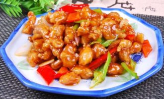 Свинина по-китайски с острым соусом