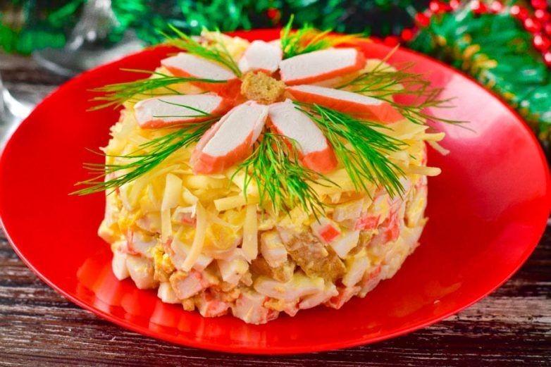 ТОП-5 любимых и вкусных салатов