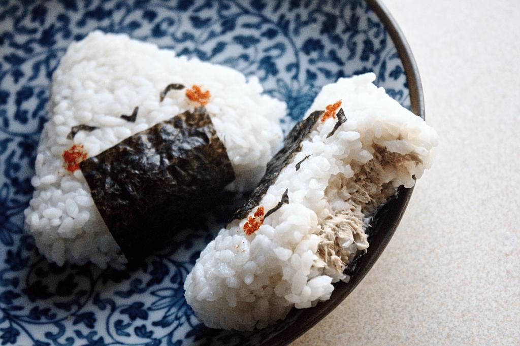 Японские колобки - онигири