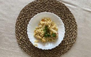 Курица в казанке с рисом (плов)