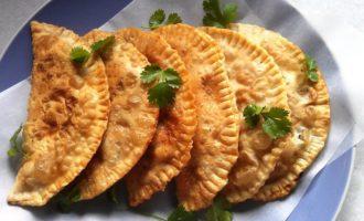 Чебуреки рецепт с мясом