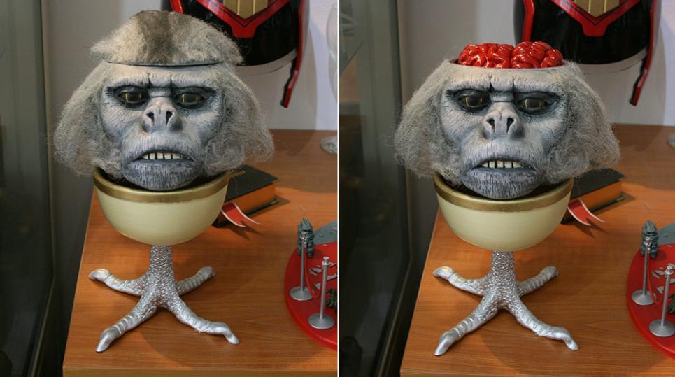 Несчастные обезьяны и дикари, что их поедают (Хоу-Нао, Обезьяньи мозги)