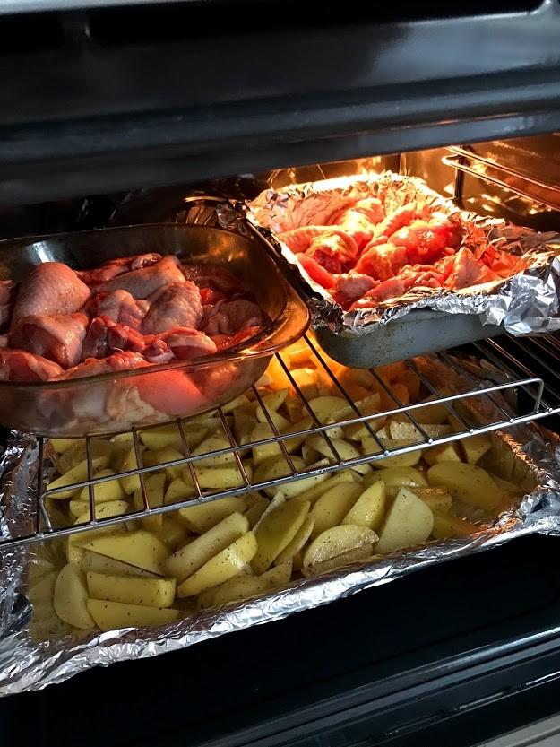 Картофель по-деревенски в духовке за 30 минут⏰⏰⏰