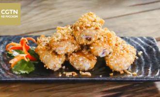 Куриные крылышки на сковороде -рецепт китайской кухни