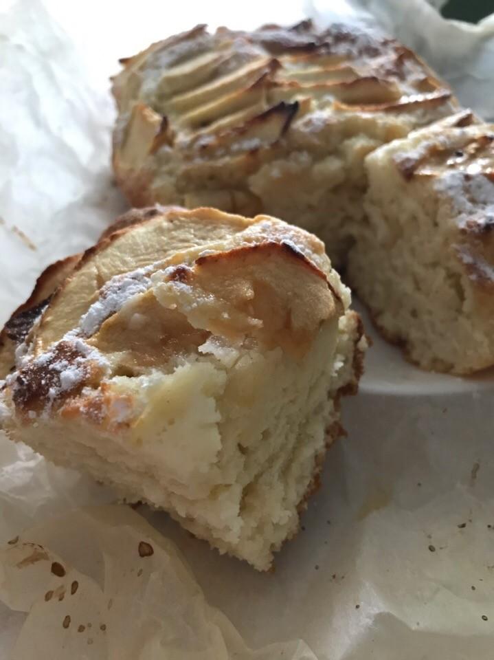 Пирог с яблоками к чаю, проще простого!