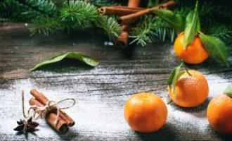 Рецепт новогоднего стола - Манный восход