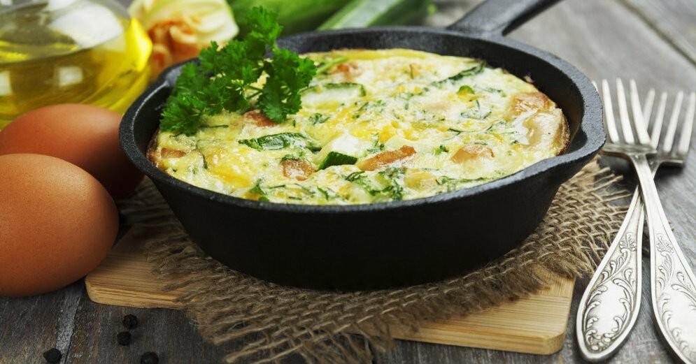 Пока сезон кабачков готовлю такие завтрак и каждый день.