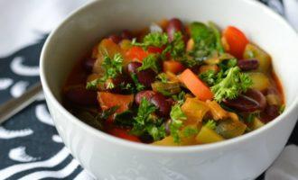 Сезонное блюдо- РАГУ из овощей