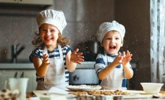 Приготовление блюд с детьми