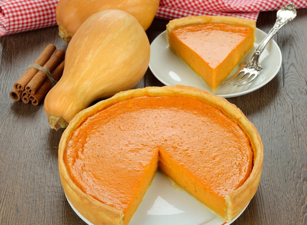 Тыквенный пирог - вкус американского праздника